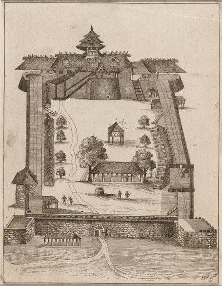 Fort Victoria Ambon. Bron Atlas of Mutual Heritage