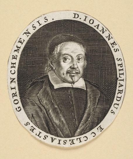 Johannes Spiljardus door H. Mayer. ( collectie Stadsarchief Amsterdam)