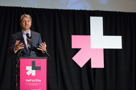 Gary Barker, CEO of Promundo Global at UN Women´s #HeForShe conference