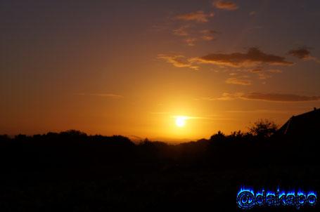 Werther Westfalen am frühen Morgen