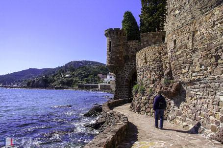 Bild: Burg La Napoule in Mandelieu-la-Napoule