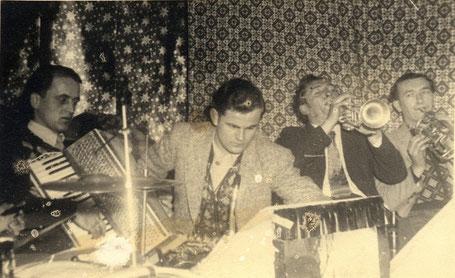 Abb. 10: Alfelder Juniors, Anfang der 1960er Jahre. Georg Maul als zweiter von links.