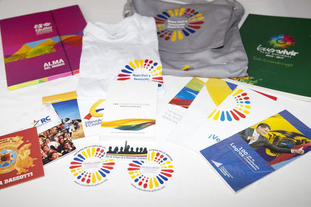 School supplies promoting the Buen Vivir
