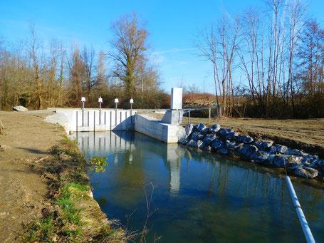 Canal de dérivation du Cassagnac et Alaric