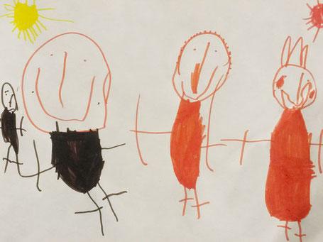 Disegno Di Un Bambino : Interpretare disegni bambini studio multidisciplinare il granchio