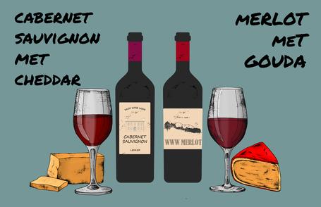 Kaas en wijn tip 3