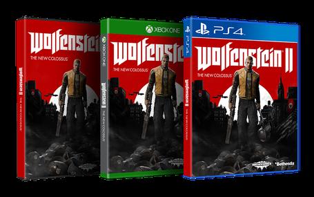Wolfenstein II: The New Colossus est prévupour le 27 octobre 2017 surPC, Xbox One et PS4.