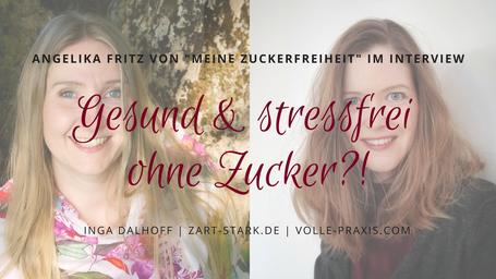 Bild zum Videointerview mit Angelika Fritz von meine Zuckerfreiheit