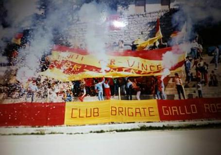 Tifo Calcio Stadion Ultras Fans Calangianus