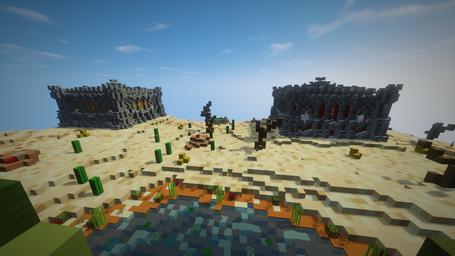 La map Cactus en Fallen Kingdoms