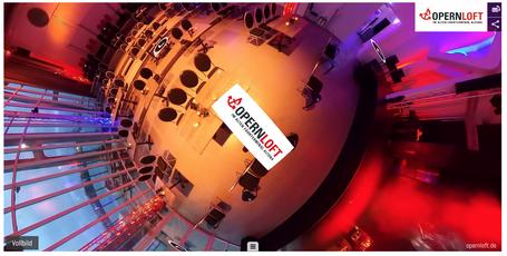 360 Grad Rundgänge, Virtuelle Tour, Oper