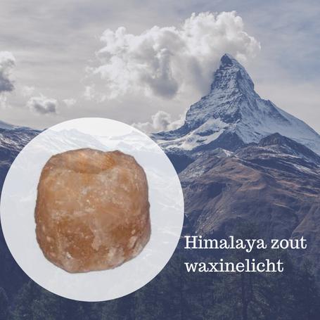 Himalaya zout waxinelichthouder