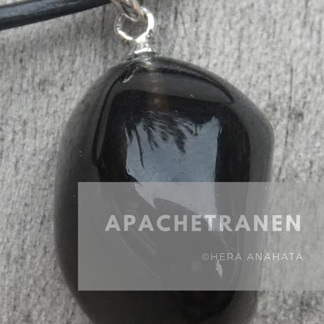 Apachetranen (obsidiaan)