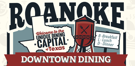 Roanoke, Unique Dining Capital of Texas