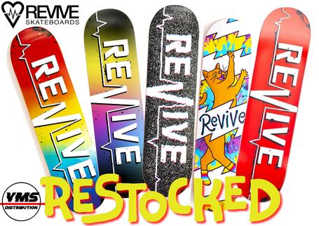 Revive Skateboards Restocked, Force Wheels Restocked, AmGrip Restocked, Revive Handskates Restocked VMS Distribution Europe