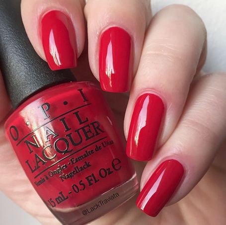 SWATCH OPI The Thrill of Brazil