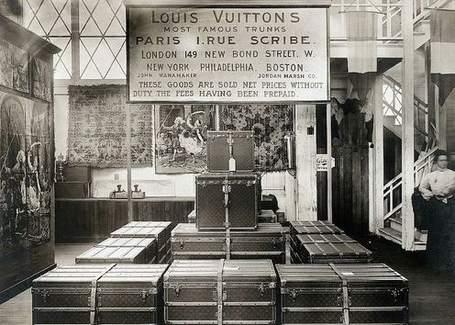 Address of the old Louis Vuitton boutique