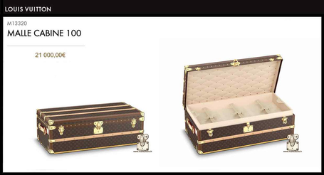 Trunk cabin 100 Louis Vuitton