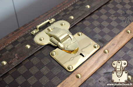 lazer polish brass competition trunk vuitton