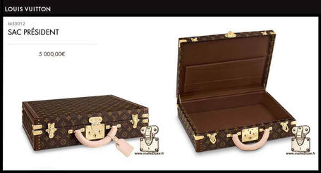 Louis Vuitton President's Suitcase