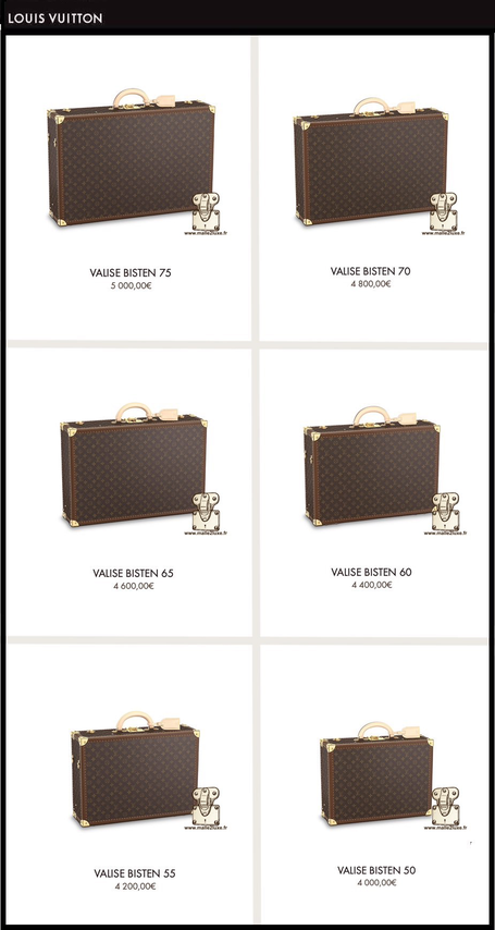 Louis Vuitton Bisten suitcase