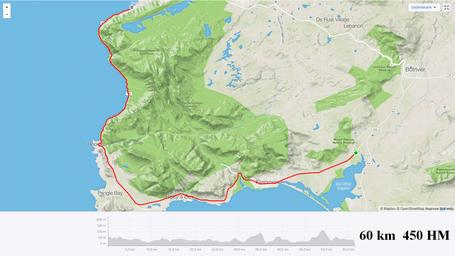 Etappe Hermanus bis Gordons Bay auf der Rennradreise Garden Route mit Pro-Biketour