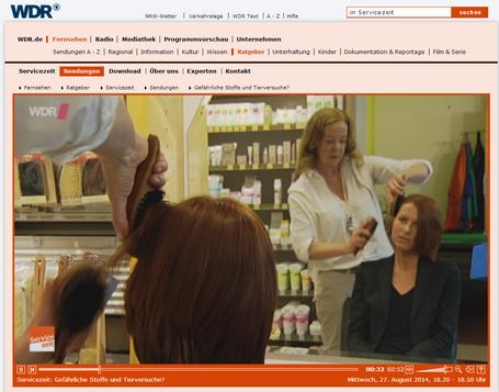 WDR 27.08.2014  - Das Freihandelsabkommen in der Kritik - Beispiel: Kosmetik
