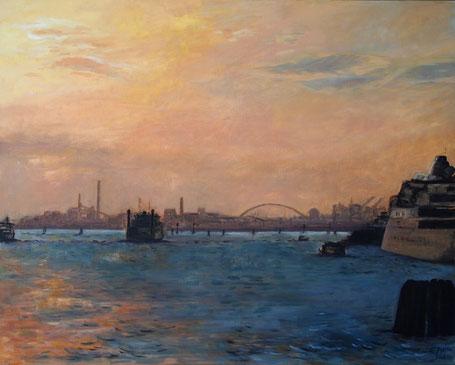 Sunset Mestre,Venice