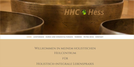 Webseite HHC Hess Kronberg