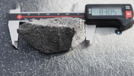 Stein mit Textur gescannt , Scanner , Opti3D
