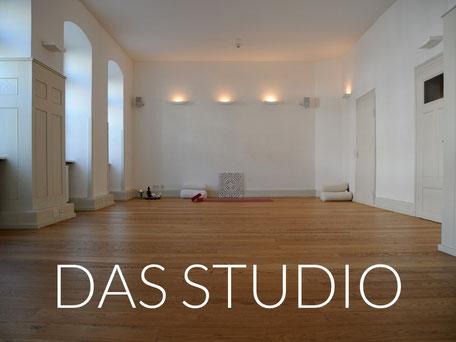 Das Studio von in touch Yoga Heidelberg