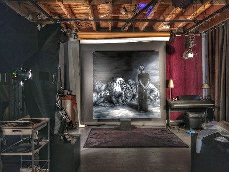 Photographie de peinture Studio photo artstudio5 Saint-Etienne
