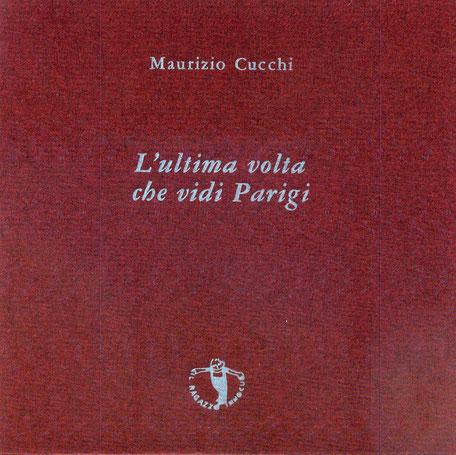 copertina con stampa tipografica in azzurro