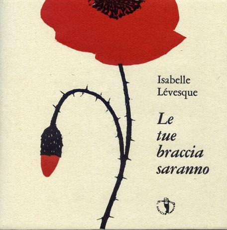 copertina con stampa tipografica e xilografia originale a due colori