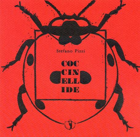copertina con stampa tipografica e linoleum originale