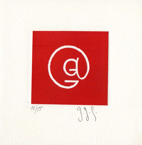 incisione originale dell'autore numerata e firmata - lastra 75x80 mm