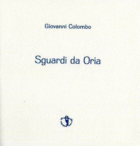 frontespizio con stampa tipografica in blu