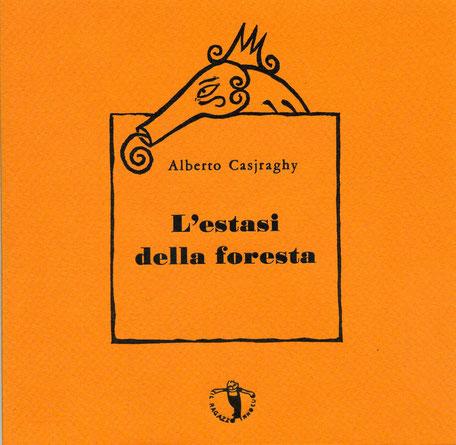 copertina con stampa tipografica in nero e linoleum originale