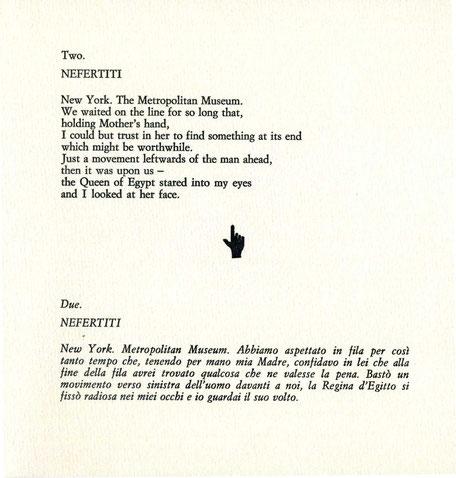 testo stampato tipograficamente a