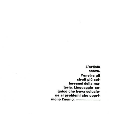 pagina di testo con stampa tipografica in nero