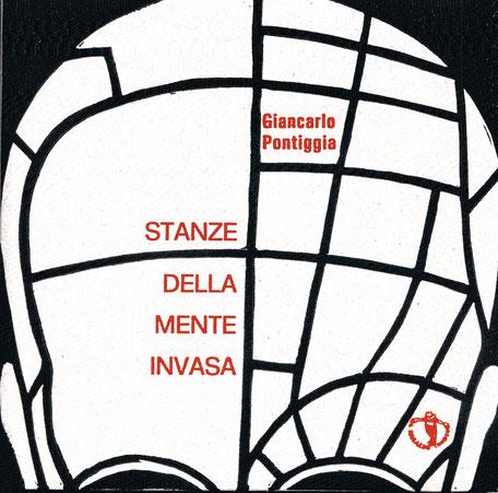 copertina con stampa tipografica in rosso e xilografia originale