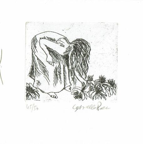 incisione originale dell'autore numerata e firmata