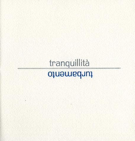 pagina di testo stampata tipograficamente a due colori