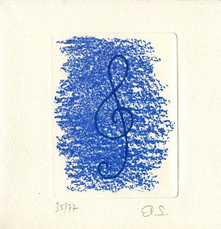 incisione originale dell'autore numerata e firmata - lastra 110x85 mm