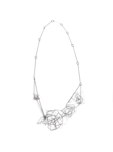 Ein Hauch von Bergluft Edelstahl Collier II