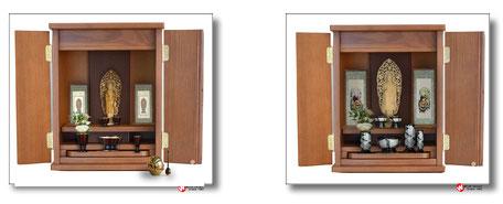 家具調仏壇ウィズココロムウラ12号