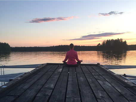 coussin méditation yoga blog
