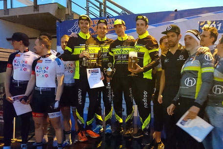 Nach Frankfurt am 1. Mai, ein erneuter Sieg in der Teamwertung