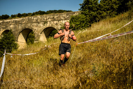 Christian Kraus in Madrid beim Obstacle Course Race. Spartan Race.