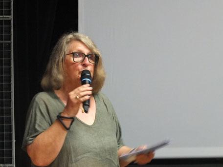 Mireille Martin, présidente du Festival VO à Gujan-Mestras a fait partager sa passion pour l'oeuvre de Buster Keaton